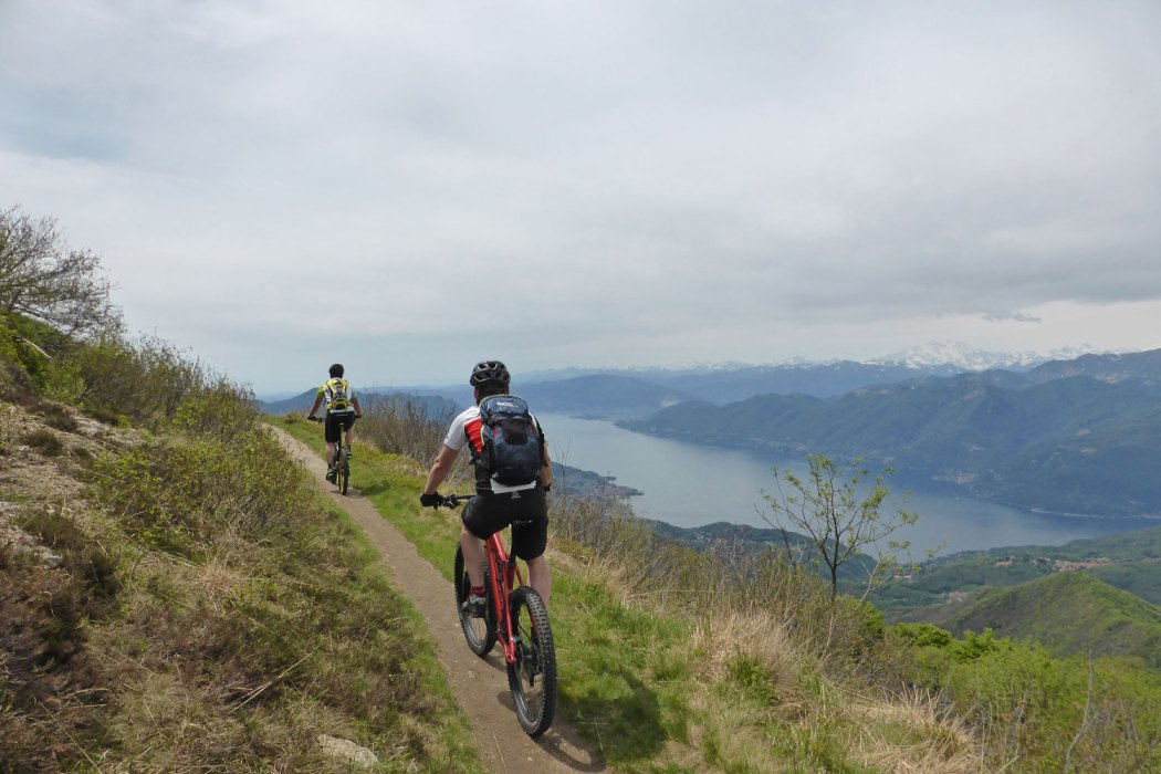 Panoramatrail am Monte Lema
