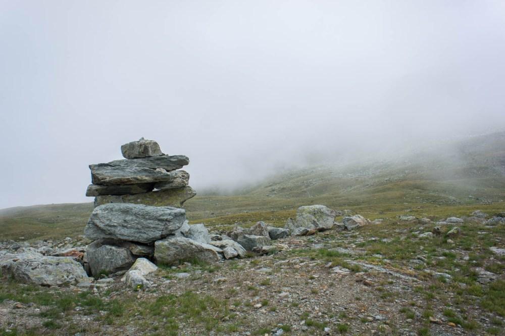 Steinmännchen beim Grosse See