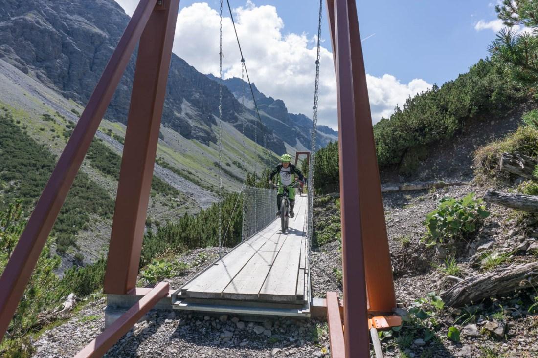Neue Brücke im Welschtobel