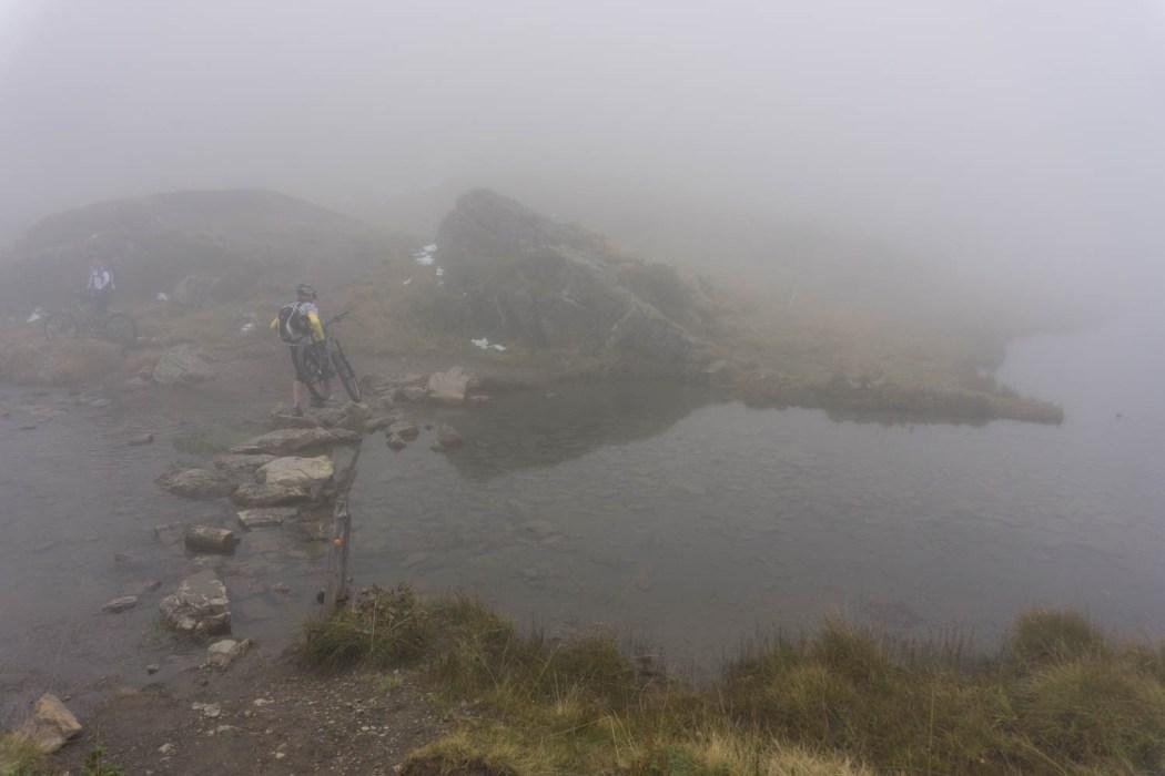 Seeüberquerung beim Vilterser Seeli