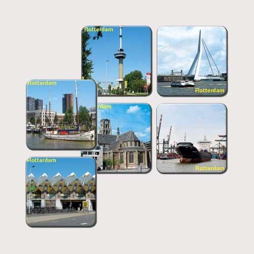 Rotterdamse onderzetters - Rotterdampakketten