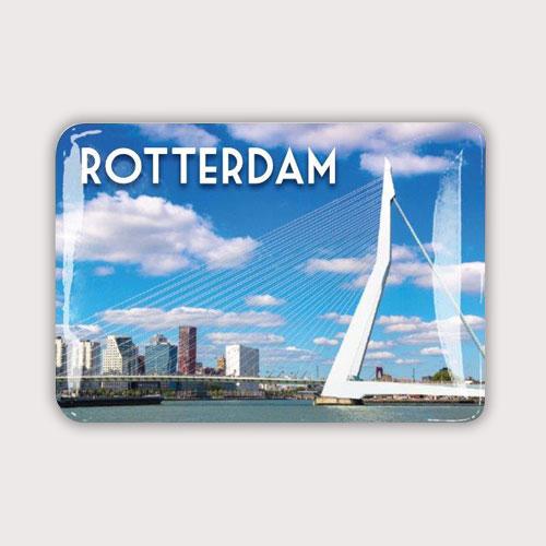 Magneet met de Rotterdam Erasmusbrug