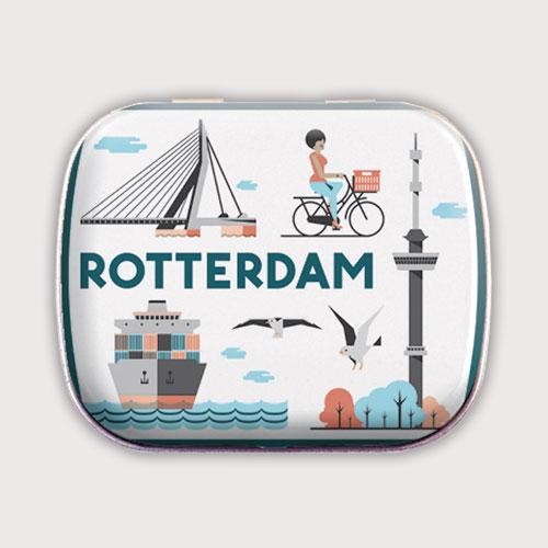 Rotterdam mintblik met lekkere pepermuntjes