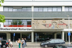 Afbeelding van het pand waar Stadsarchief Rotterdam gevestigd is