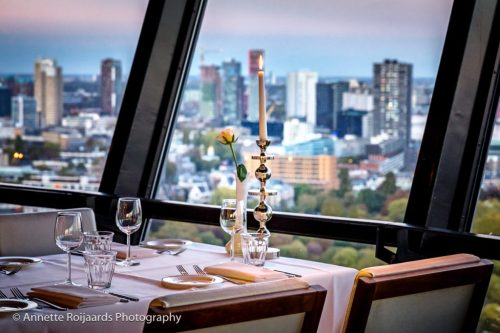Dinner with a view op de Euromast
