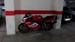 Rotulación Cagiva Mito 125 Réplica FILA - Ducati Réplica FILA