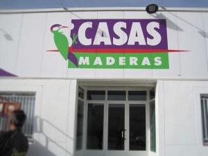 Rotulación Maderas Casas Alcorisa