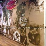 Mural Zona de Juegos en Alcatraz Pub Music & Drinks