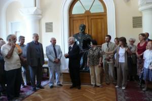 "Lucnching ""Counttries South of the Caucasus"" in Matenadara, Yerevan, 2007"