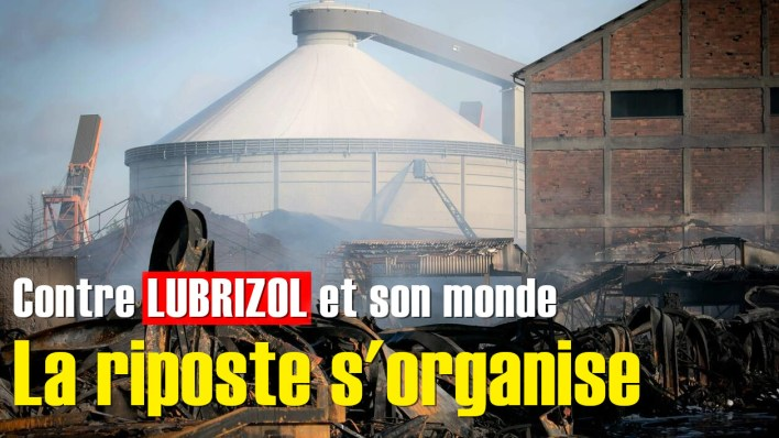 FRANCE-INDUSTRY-ACCIDENT-FIRE