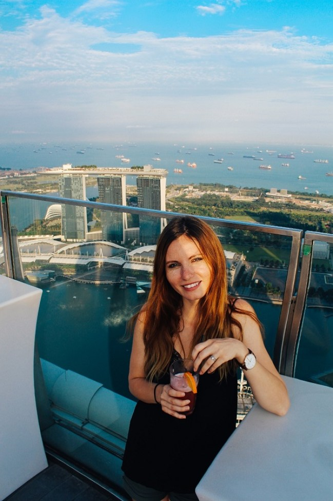 Altitude Singapour Rooftop Bar