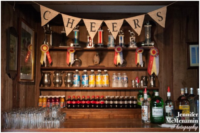 ROUGE offers a variety of bar packages included in your pricing. --- Photo courtesy of Jennifer McMenamin Photography.