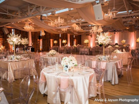 A truly breathtaking event at Baltimore's American Visionary Art Museum. --- Photo by Alysia Jayson Photography.