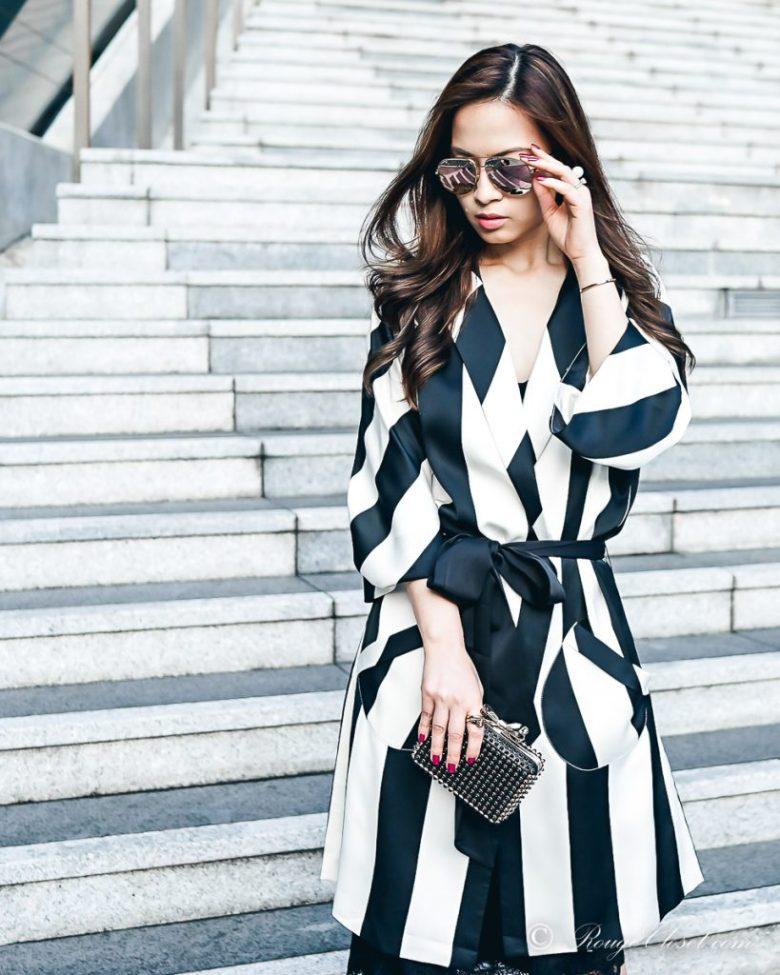 Sarah Lai The Thelma Kimono - Styling tips for kimono