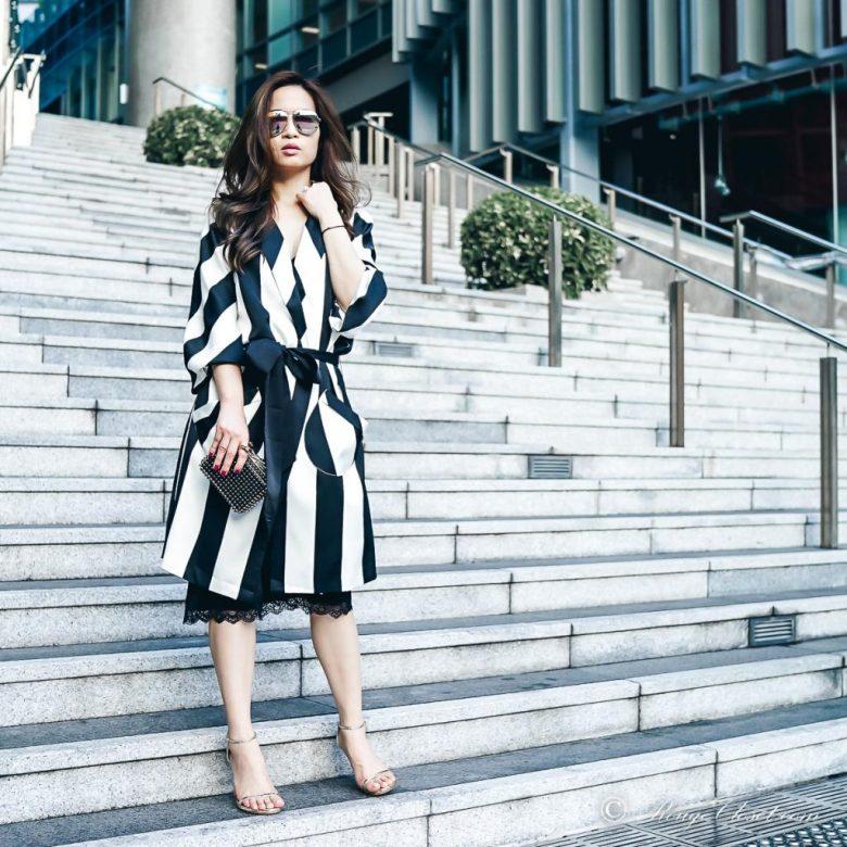 Sarah Lai The Thelma Kimono - Front