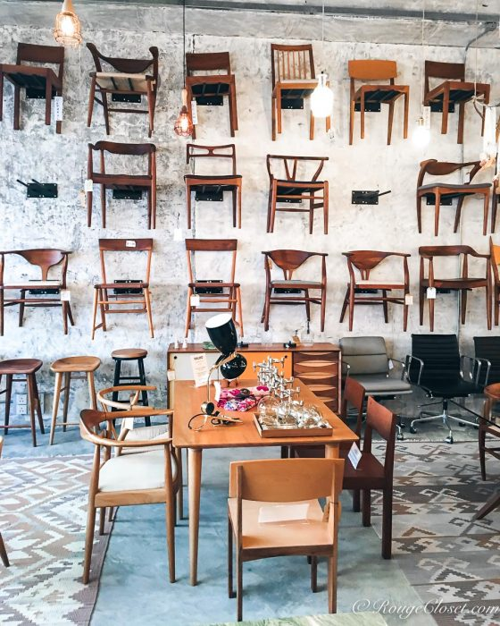 Organic Modernism shop interior