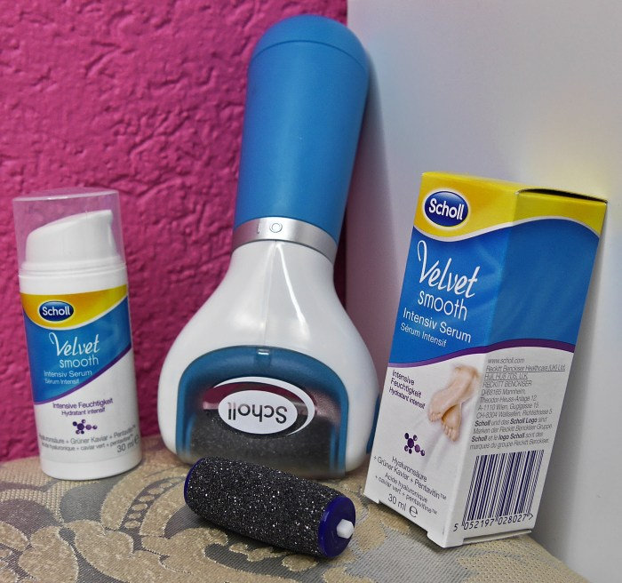 Scholl Velvet Smooth small