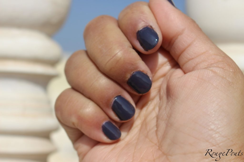 Rimmel London Salon Pro Kate Nail Paint In Punk Rock 711 Review And Swatch