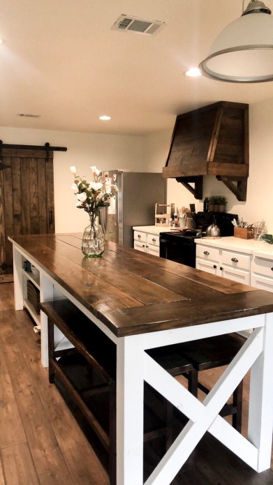 Rustic Farmhouse kitchen remodel