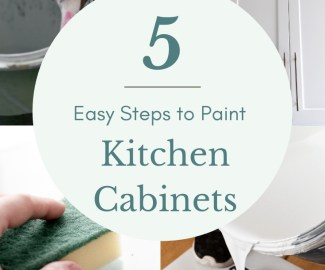 Kitchen cabinets How to paint