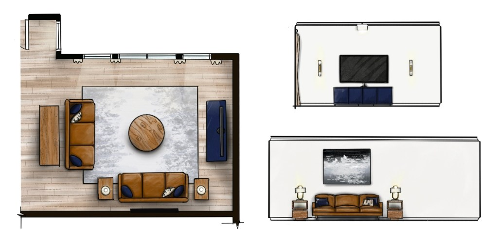 Procreate for interior design elevations and floor plans