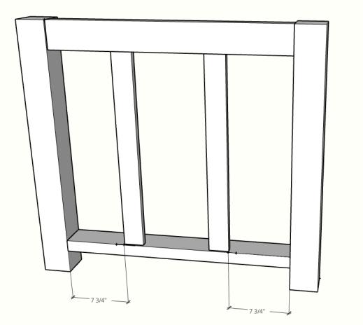 DIY kitchen island sketch up