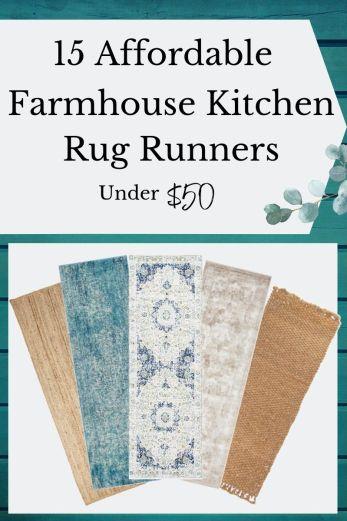 Affordable Farmhouse Rug Runner