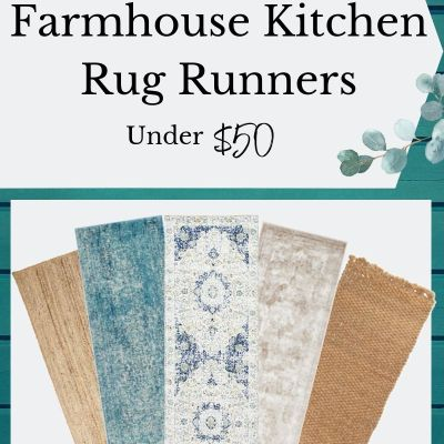 Affordable and Durable Farmhouse Kitchen Rug Runners