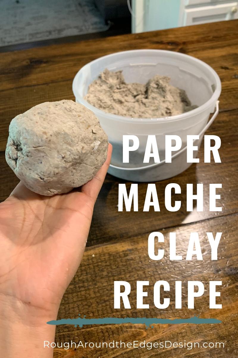 Diy Paper Mache Recipe How To Make Paper Mache Clay Paste