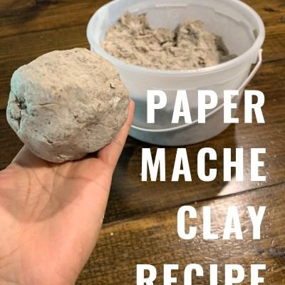 DIY Paper Mache Recipe: How to Make Paper Mache Clay & Paste