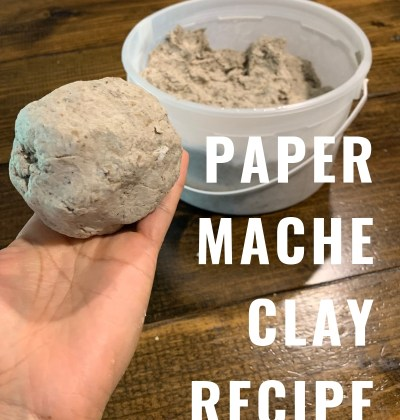 Paper mache clay recipe