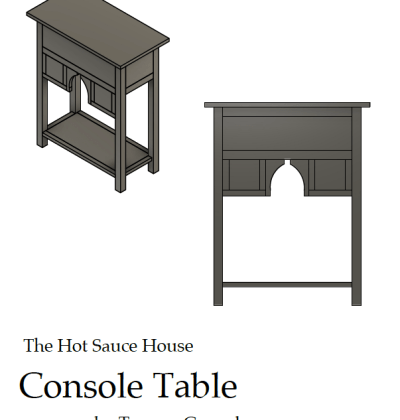 HGTV Console Table