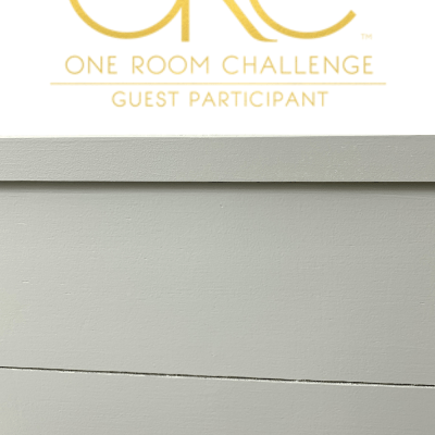 One Room Challenge Spring 2019 Week 4: Let's Paint