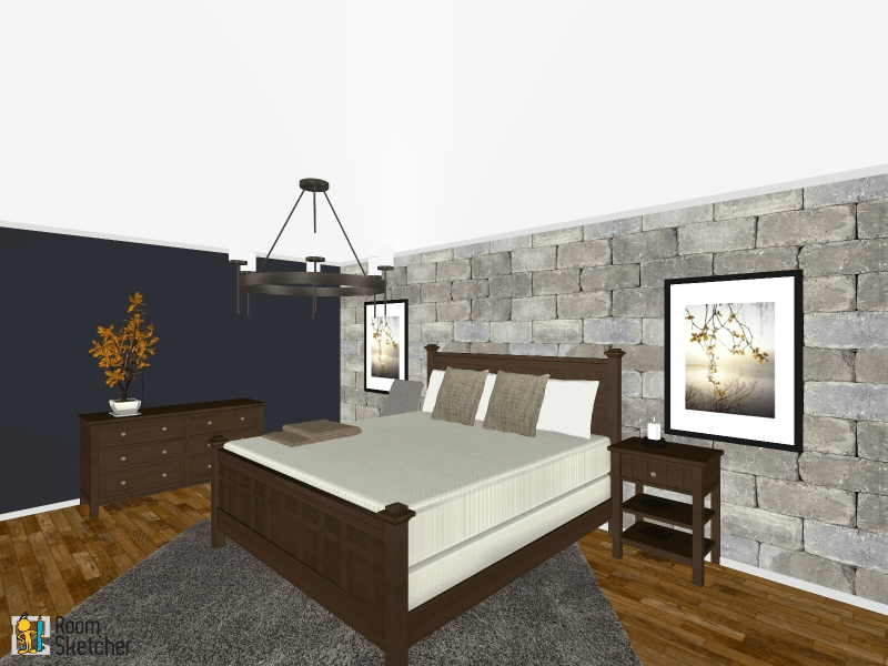 Winterfell Inspired Bedroom