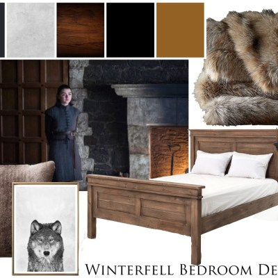 Mood Board Monday: Winterfell Inspired Bedroom