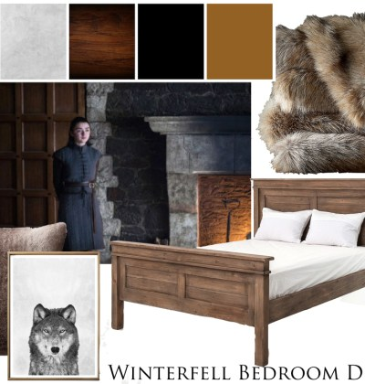 game of thrones inspired bedroom