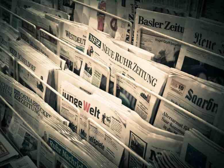 Printed Newspaper