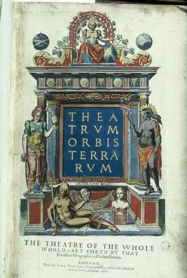 403px-Bodleian_Libraries,_Ortelius,_Theatrum_Orbis_Terrarum_Titlepage_with_four_figures_which_embody_the_four_known_continents