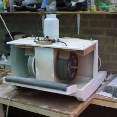 our home made cabachon machine