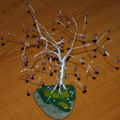 Wire Tree Sculpture 1 Finished