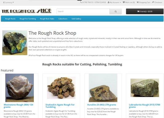 Rough Rock Shop home page