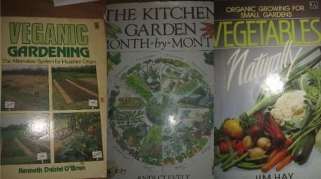 My top three gardening books