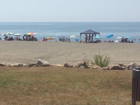 Sunday is beach day