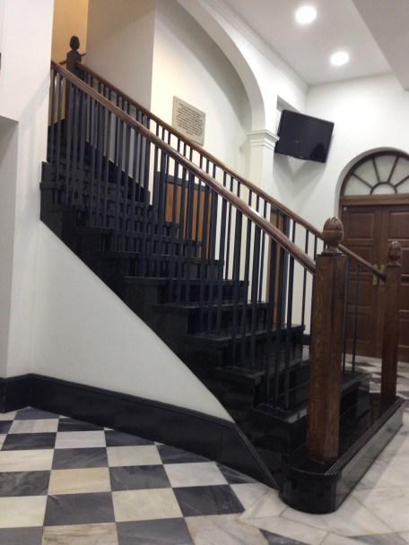 Supreme Court, inside the foyer