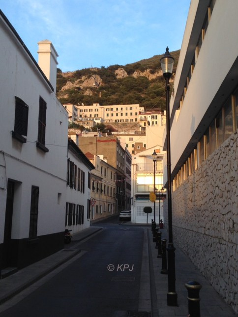 The rock from Convent Ramp