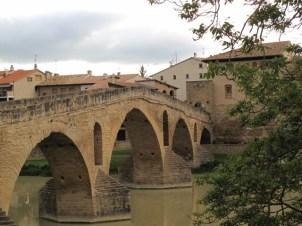 The bridge at Puente la Reina