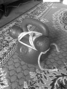 Kettlebell and Roped Dumbbell