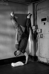 Convict One-Arm Handstand Push-Up