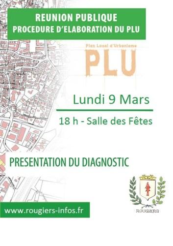 Réunion publique  -  PLU