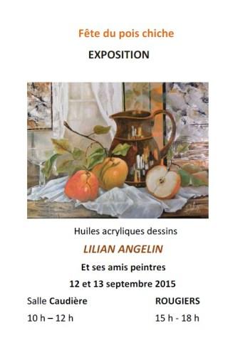 Exposition de Peinture Lilian Angelin